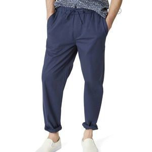 Onia 100% Linen Casual Pants Loose Fit